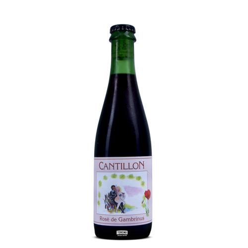 Cantillon ROSE DE GAMBRINUS (0,375 l but.)