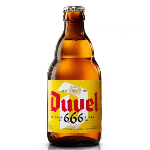 DUVEL 6,66 (0,33 l but.)
