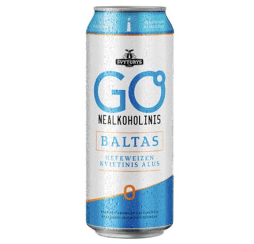 GO BALTAS NEALKOHOLINIS (0,5 l skard.)