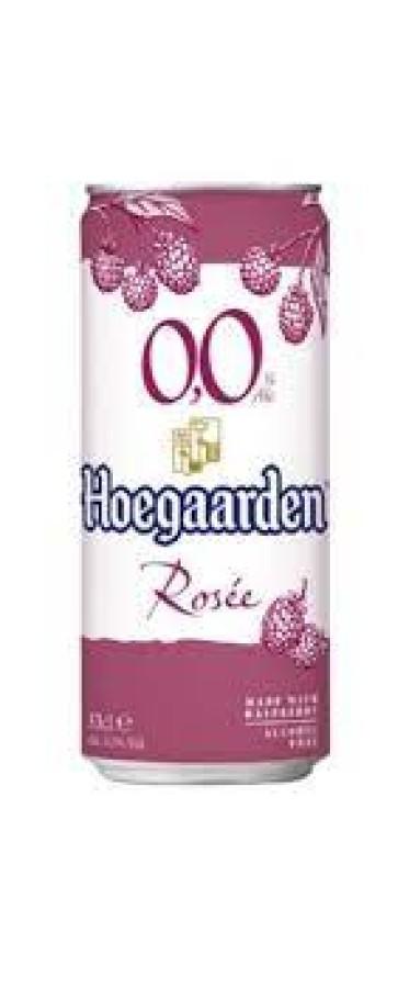 Hoegaarden WIT BLANCHE ROSE (0,33 l skard.)