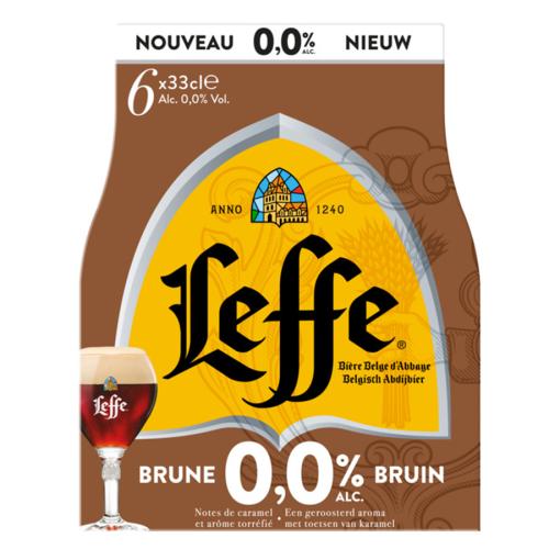 Leffe BRUNE 0,0 % (0,33 l but.)