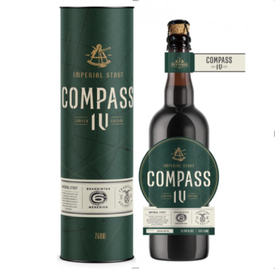 Švyturio COMPASS IV (0,75 l but.)