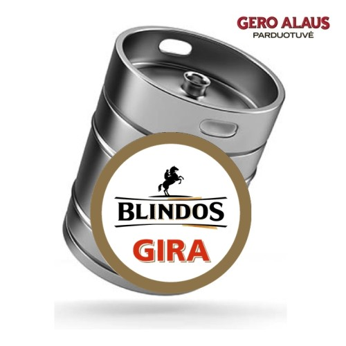 Blindos Gira GARDŽIOJI (statinėmis)