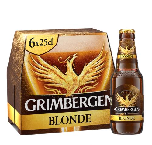 Grimbergen BLONDE, 6*0,25 l but.