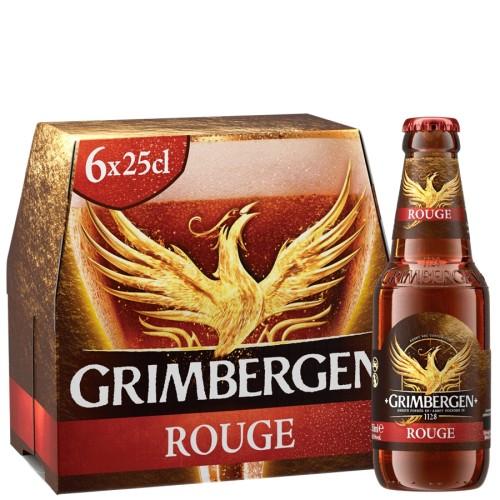 Rinkinys Grimbergen ROUGE, 6*0,25 l but.